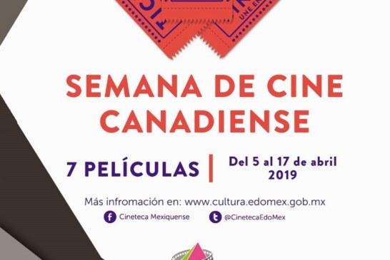 Invita secretaría de cultura a primera semana de cine canadiense en Edoméx