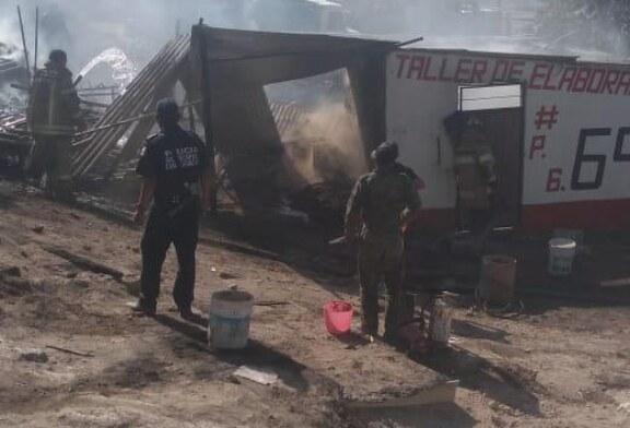 Explotan dos polvorines en Chimalhuacán