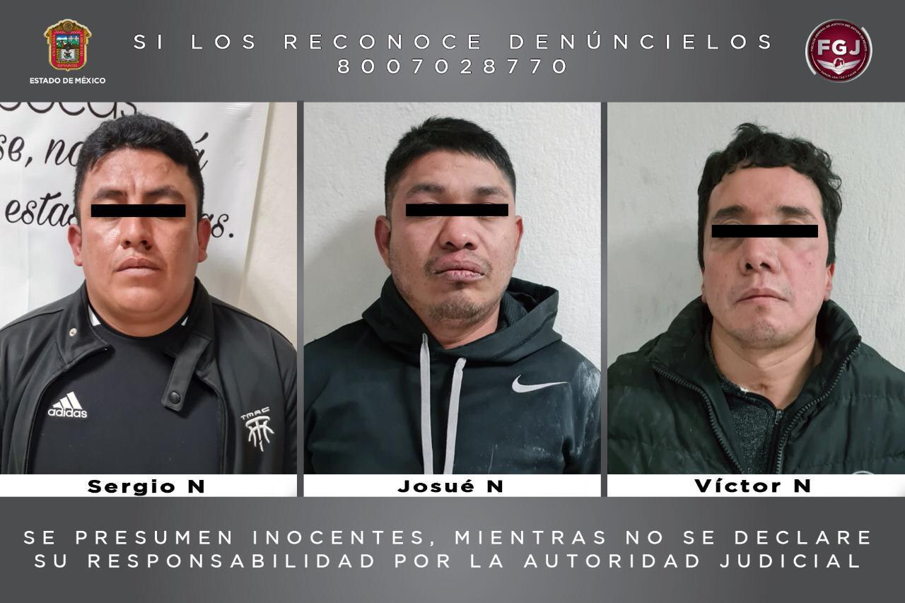 Procesan a tres individuos por el robo de 184 teléfonos celulares, valuados en más de un millón de pesos