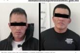 Presuntos narcomenudistas son detenidos por elementos de la secretaría de seguridad