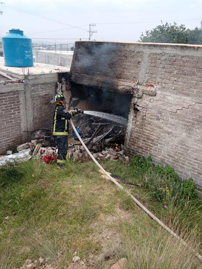Fallece una persona a causa de explosión de pirotecnia en Ixtapaluca