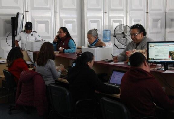 Aprovechan metepequenses bonificaciones especiales otorgadas por el ayuntamiento