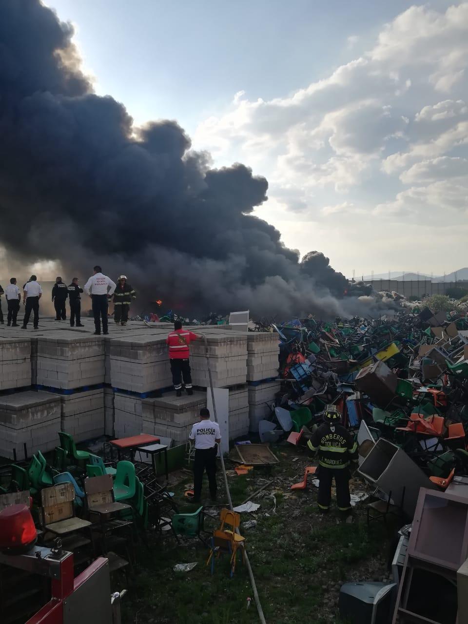 Se incendia una bodega de los Seiem
