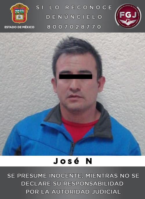 Asegura FGJEM a sujeto investigado por la violación de una menor de 14 años en Valle de Chalco
