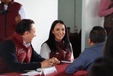 El objetivo es otorgar servicios públicos de primera en Metepec: Gaby Gamboa