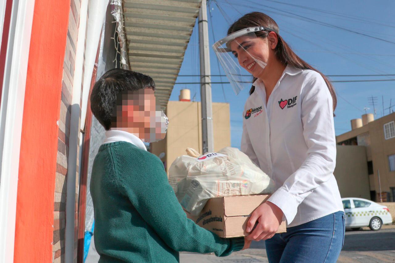 Desde el DIF municipal acciones precisas para el bienestar de la niñez metepequense.