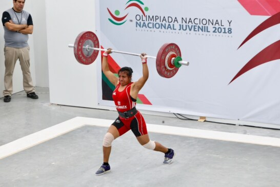 Suma Edoméx segunda medalla en levantamiento de pesas
