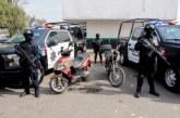 Captura en flagrancia Policía de Toluca a dos hombres por robo de autopartes