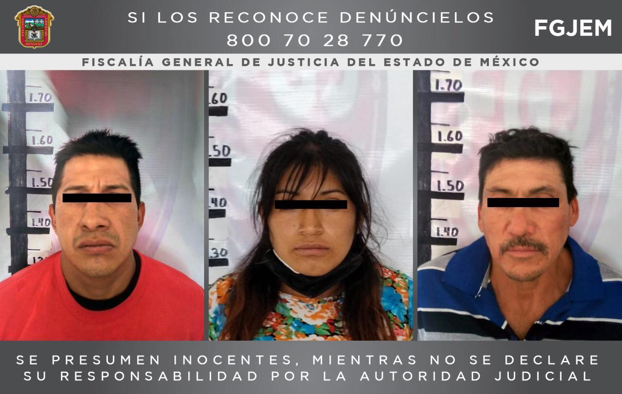 Detienen a tres personas investigadas por extorsionar a conductores de una ruta de transporte público en Ecatepec
