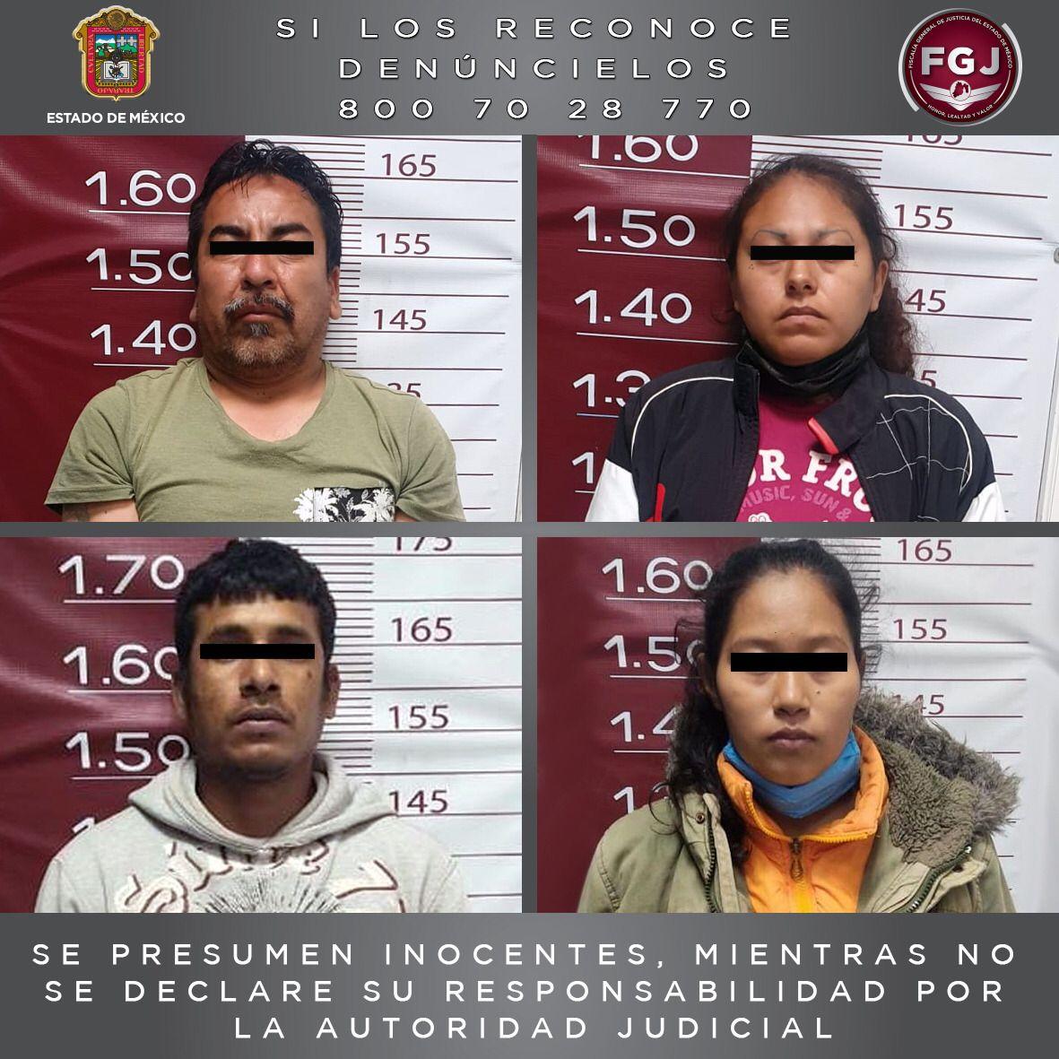 Vinculan a proceso a cuatro probables integrantes de un grupo criminal, investigados por extorsión a una ruta de transporte público
