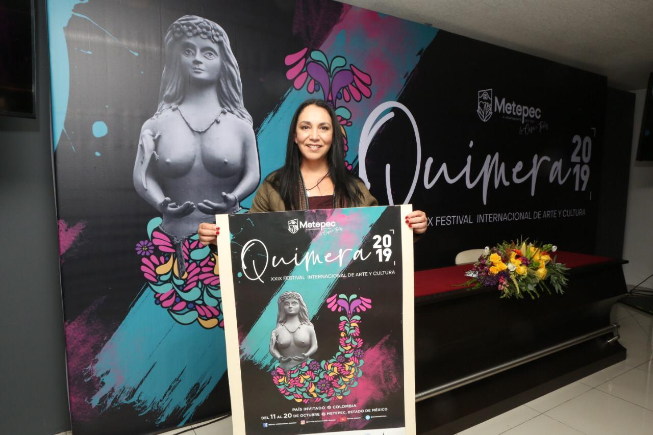 """Gaby Gamboa da a conocer espectacular programa del festival internacional de arte y cultura """"Quimera 2019"""""""