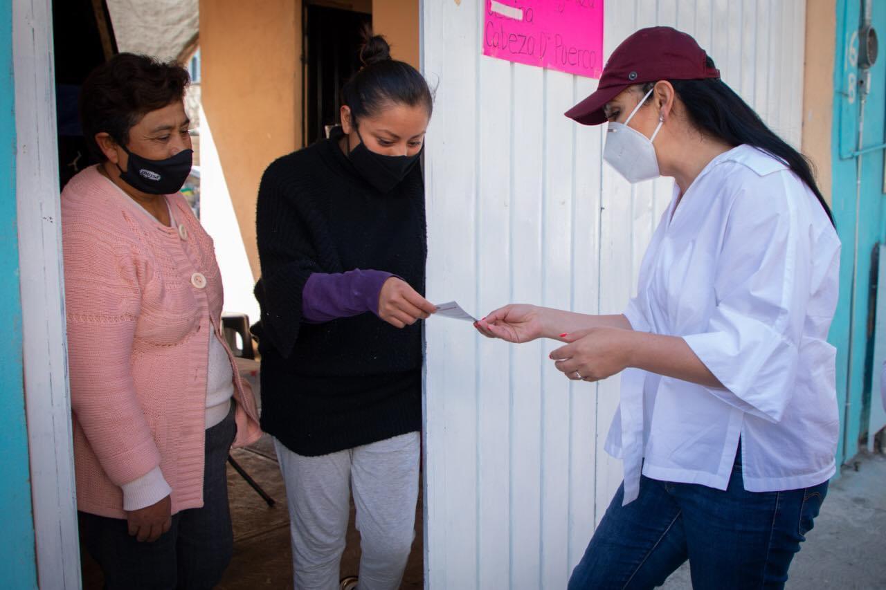 En gira de trabajo seguimos informando a la ciudadanía: Gaby Gamboa