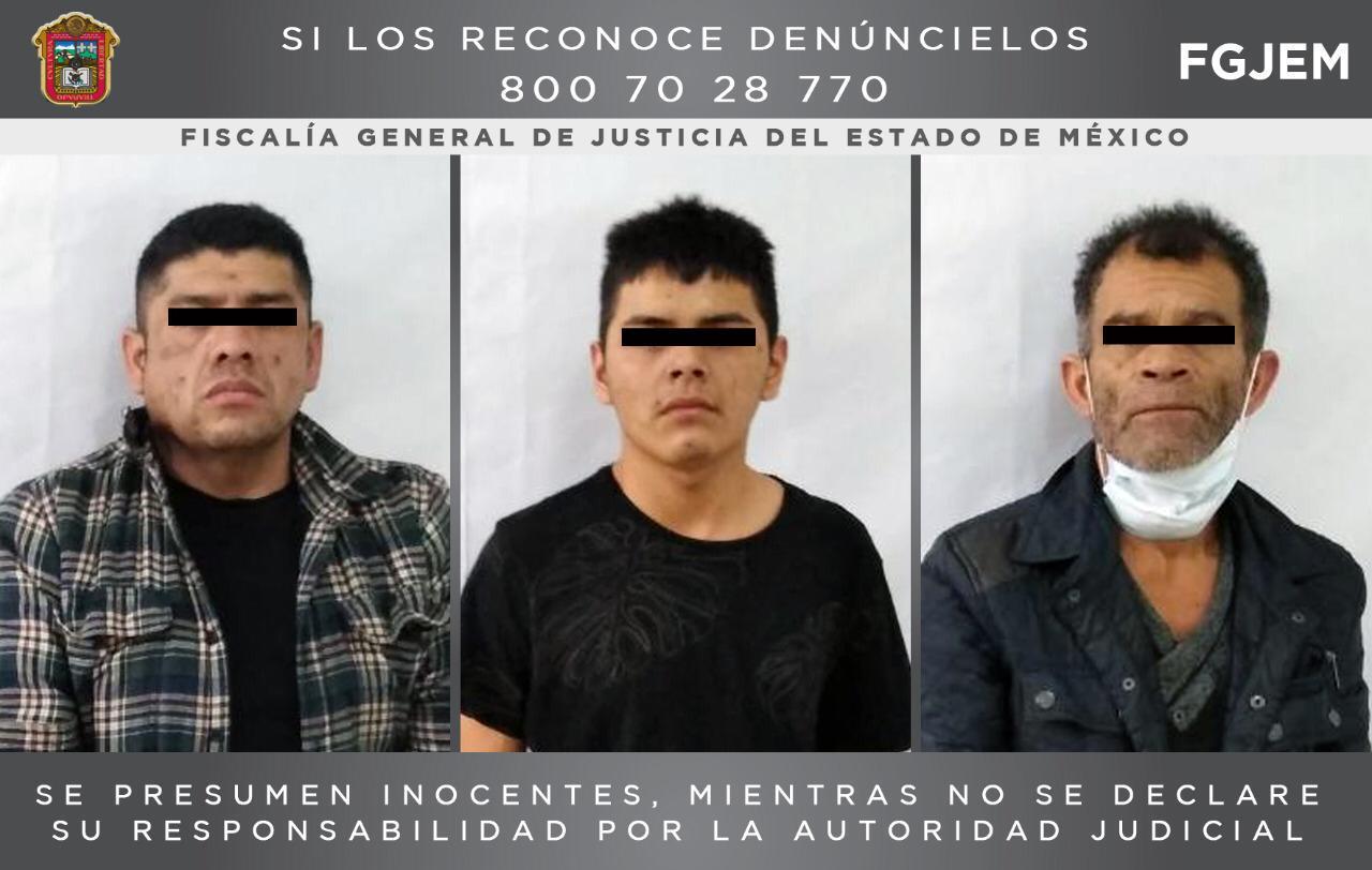 Catean inmueble en Tlalnepantla donde fueron aseguradas cuatro armas de fuego y envoltorios con droga