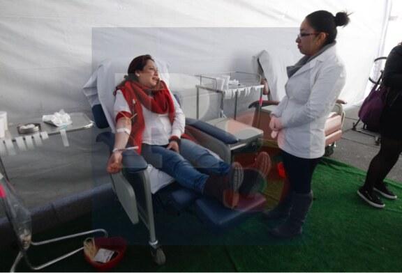 Todos a donar sangre, hoy fue el sexto maratón