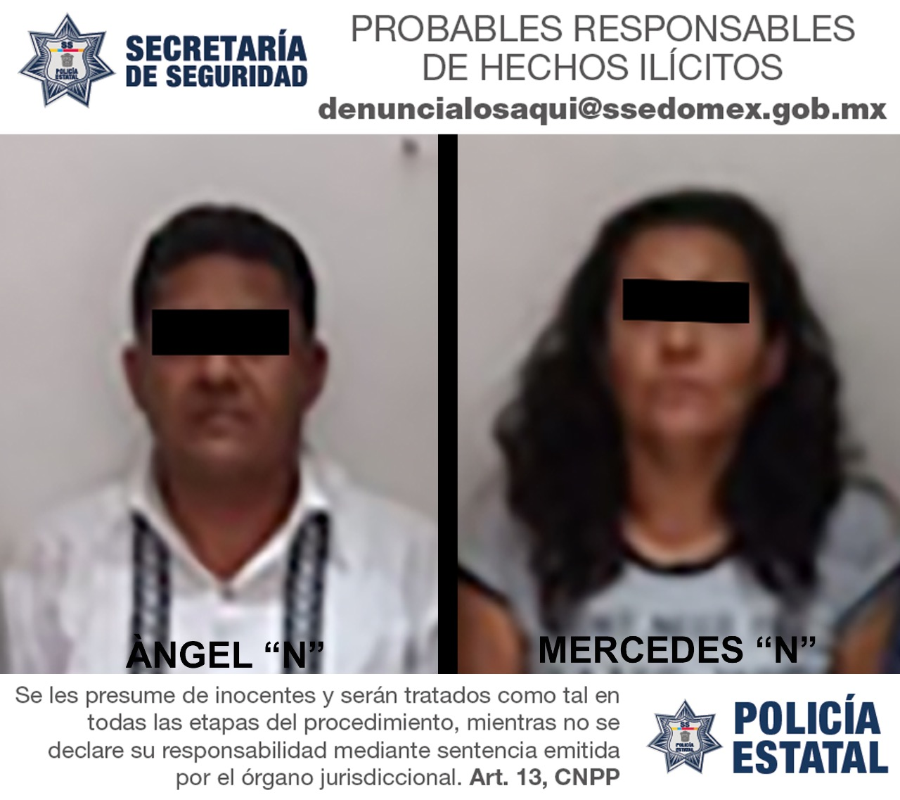 Captura secretaría de seguridad a probables responsables de robo a cuentahabiente