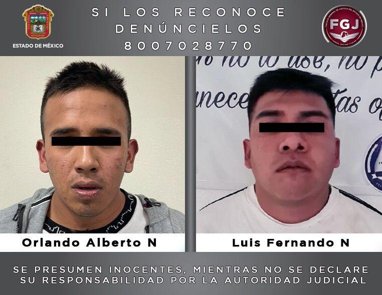 Vinculan a proceso a dos probables partícipes de un robo con violencia en Naucalpan