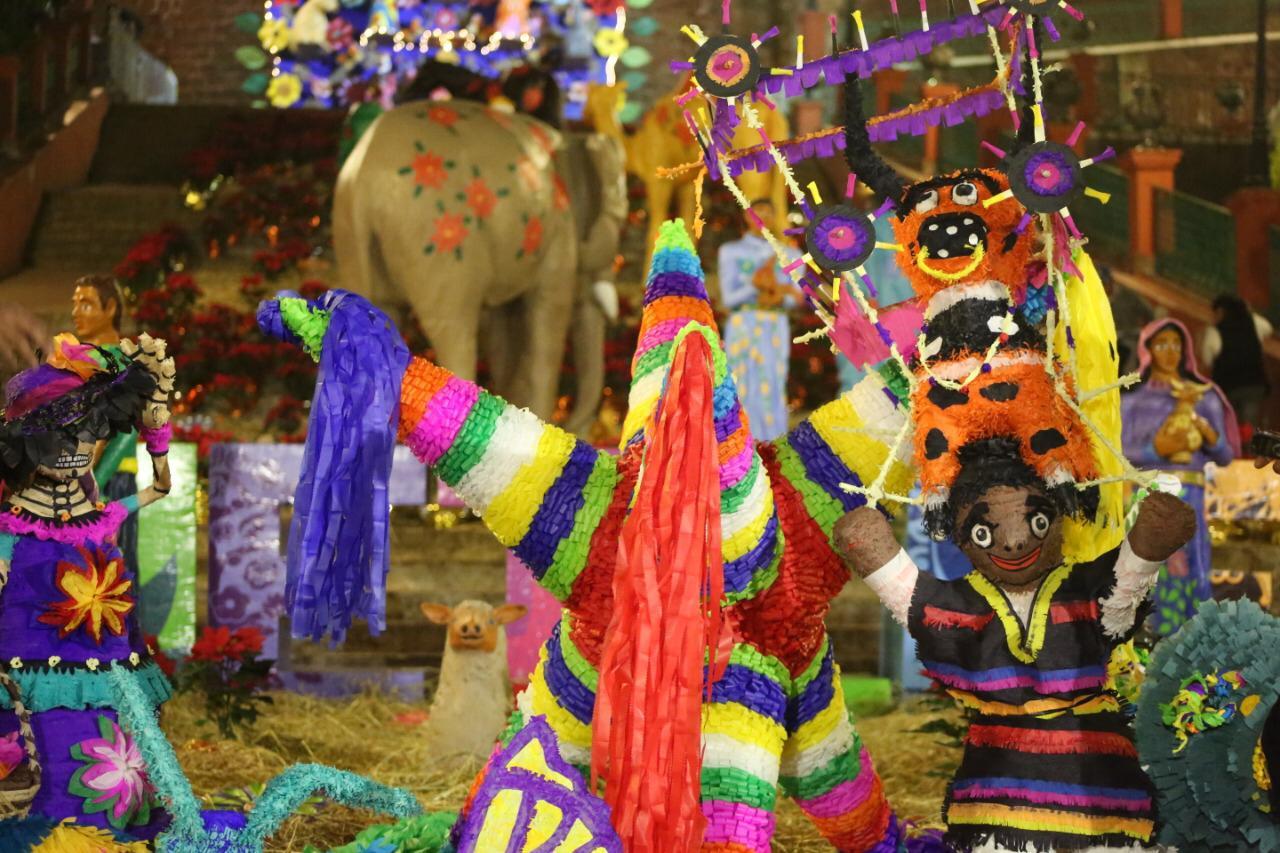 Inicia festival navideño Metepec 2019