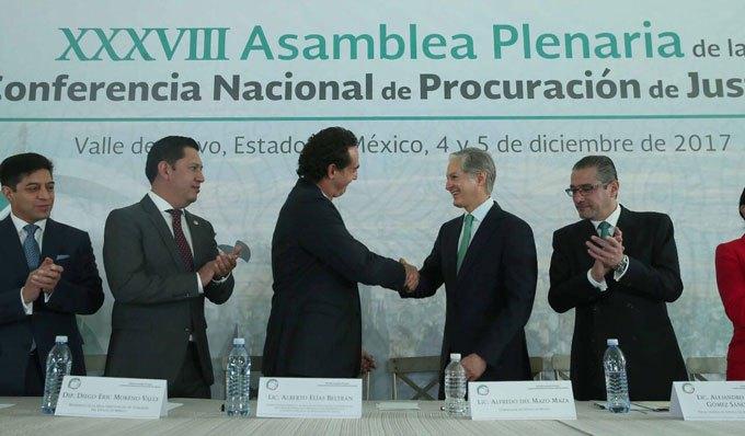 Presenta PGR en el Edoméx nuevo modelo homologado de procuración de justicia