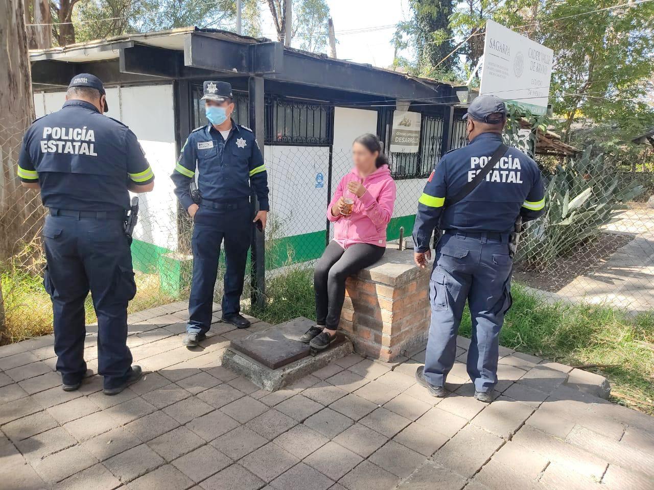 Policía estatal localiza localiza a mujer reportada como extraviada