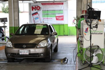 Anuncia Edomex que los vehículos solo deberán verificar una vez este año.