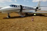 Se despista aeronave en aeropuerto de Toluca