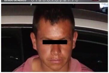 Detiene FGJEM a probable feminicida de una menor de Valle de Chalco