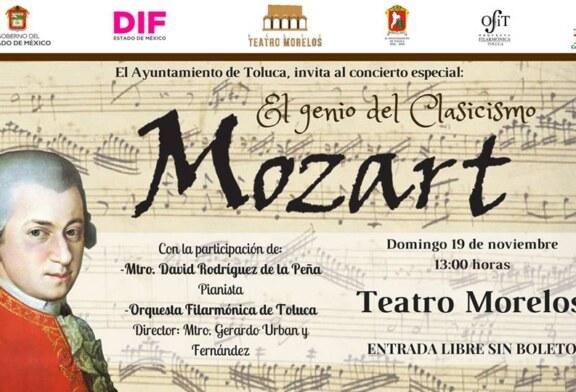 """Invita OFiT al concierto especial """"Mozart, el genio del clasicismo"""""""