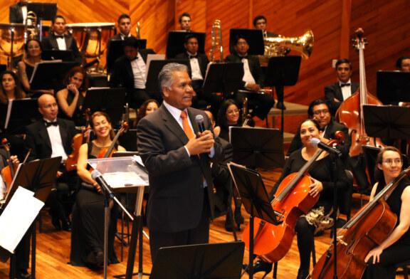 Poesía y música se funden en magno concierto de la OFiT
