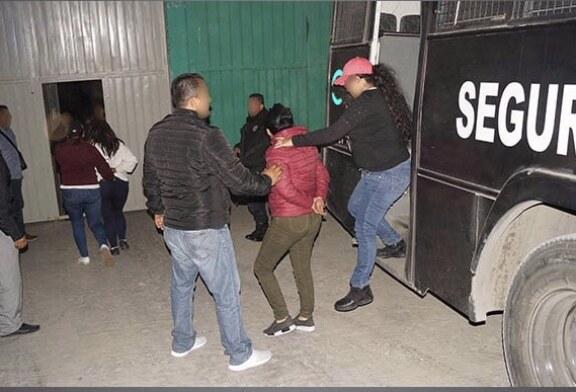Ingresan a un penal 10 de los detenidos  en tiendas departamentales en EDOMEX