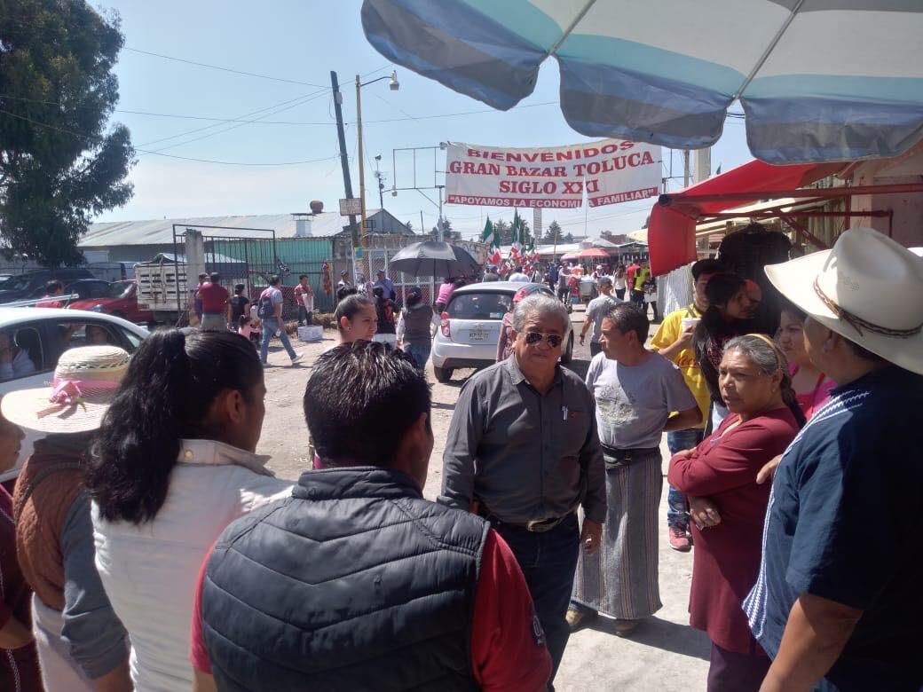 Prohibido que Delegados y Subdelegados en Toluca cobren contribuciones municipales: Arturo Chavarría