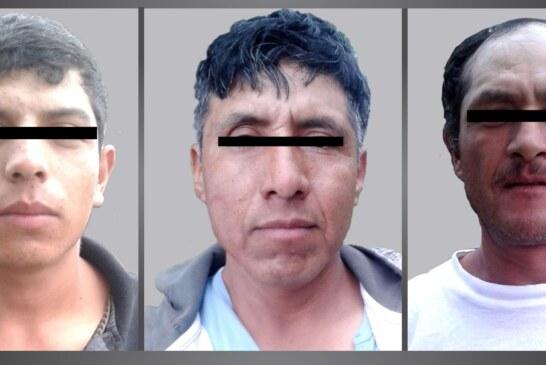 Detienen a tres por robo en transporte público