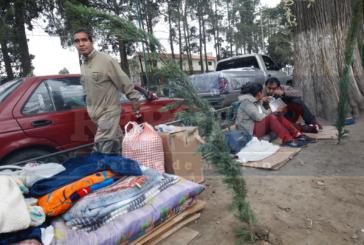 Ayuntamiento retira a familiares de pacientes en hopital del Niño