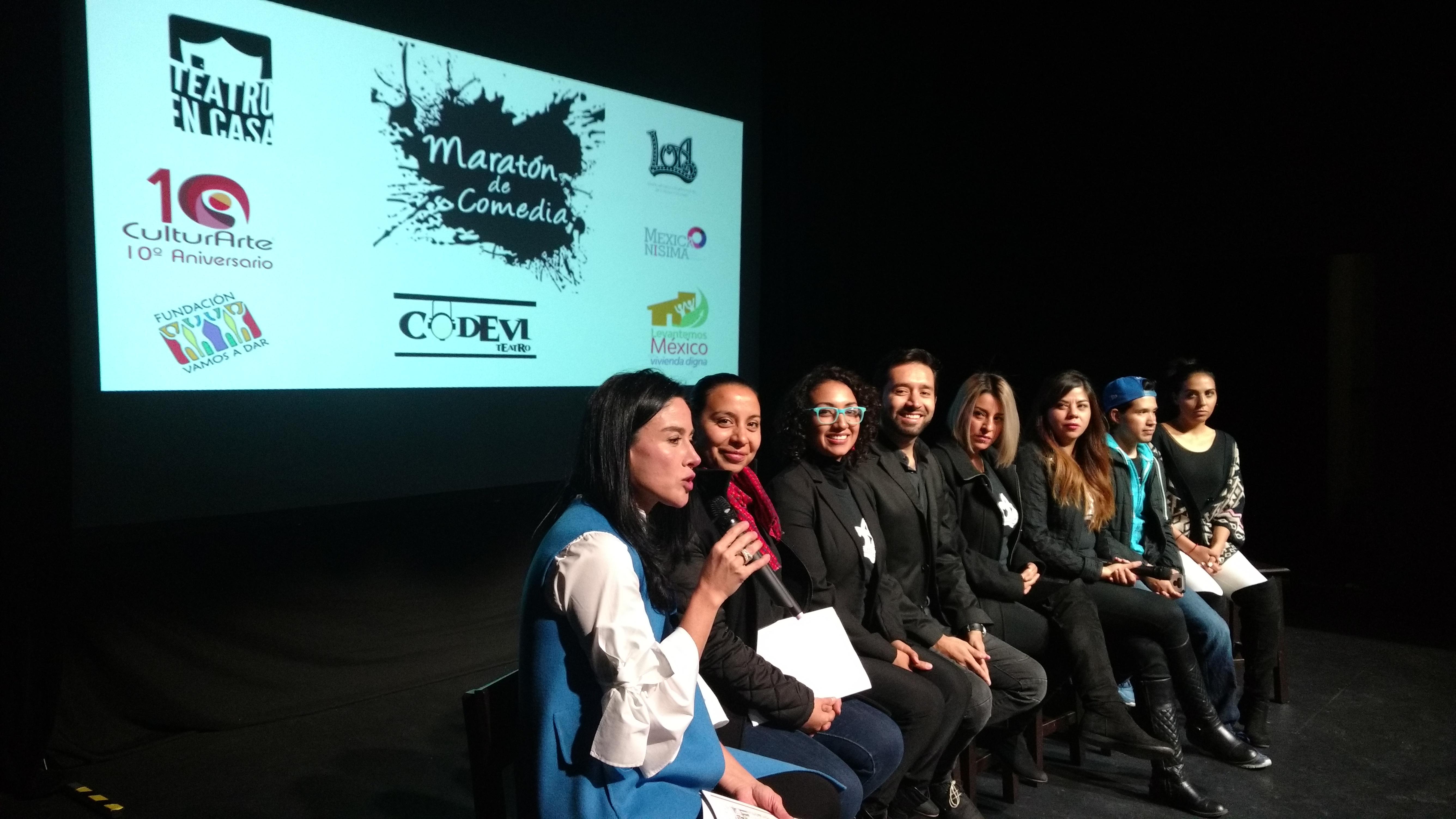 """La risa llenará Teatro Metepec con """"El maratón de comedia"""""""