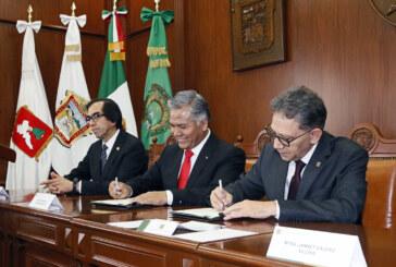 Unen esfuerzos Toluca y UAEMéx en beneficio de la población