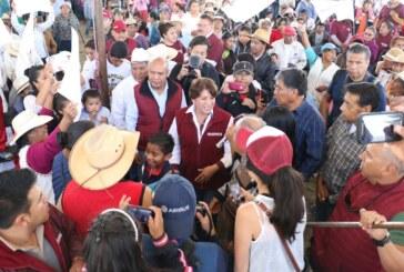 Exige Delfina Gómez aplicar todo el peso  de la ley a los corruptos