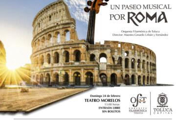 Sorprenderá OFiT con extraordinario concierto Un Paseo Musical por Roma