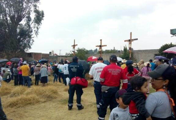 Saldo blanco en Toluca durante las actividades de Semana Santa