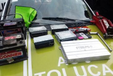 esmantela Policía de Toluca banda dedicada al robo a interior de vehículo