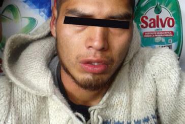 Detiene policía de Toluca a presunto ladrón, gracias a denuncia
