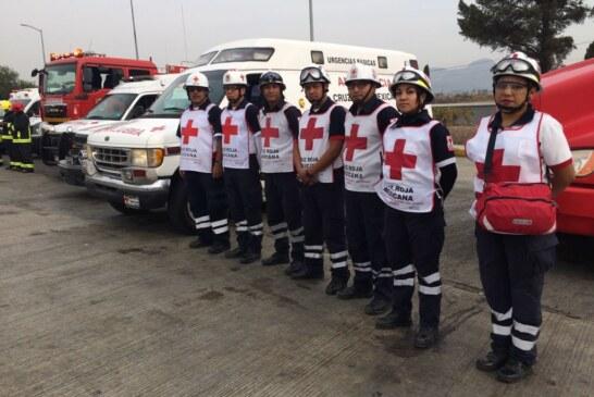 Atendió Cruz Roja a 853 personas durante Semana Santa en Edomex