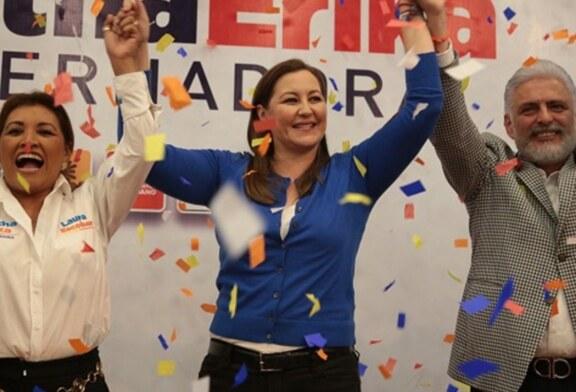 Se ratifica el triunfo de Martha Érica en Puebla.
