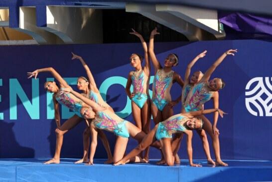 Mantiene Edoméx hegemonía en natación artística durante olimpiada nacional