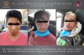 Desmantelan un punto de venta de droga en Metepec