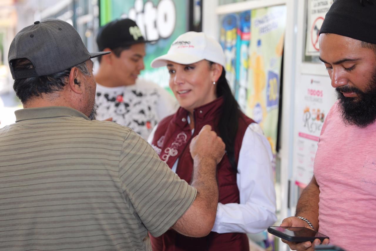 Reinicia Gaby Gamboa el exitoso programa «regeneración en tu colonia» 2020