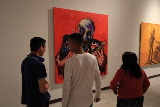 """Plasman el arte y la música en la exposición """"retrato de ausencia"""" de jazzmoart"""