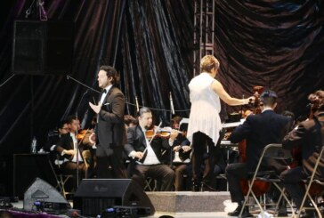 Cautivan a Metepec el tenor Arturo Chacón y la filarmónica mexiquense