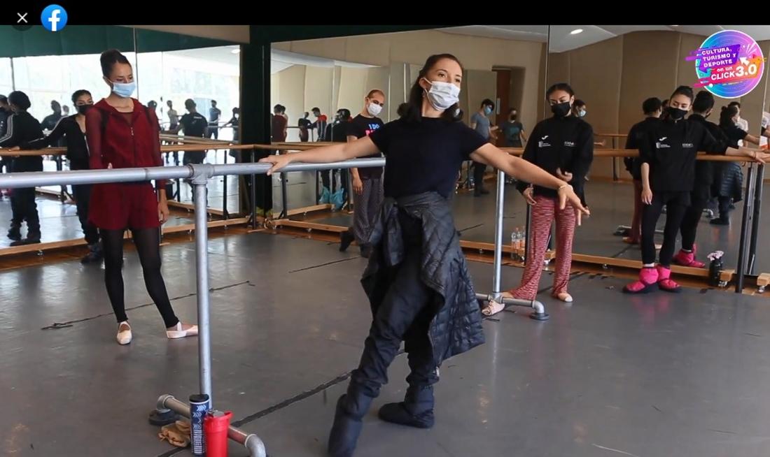 Invita compañía de danza del estado de México a conocer su entrenamiento