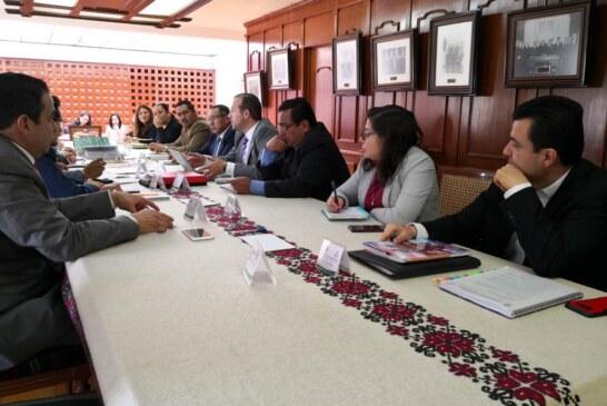 Continúan en Toluca trabajos de Entrega-Recepción de la administración municipal