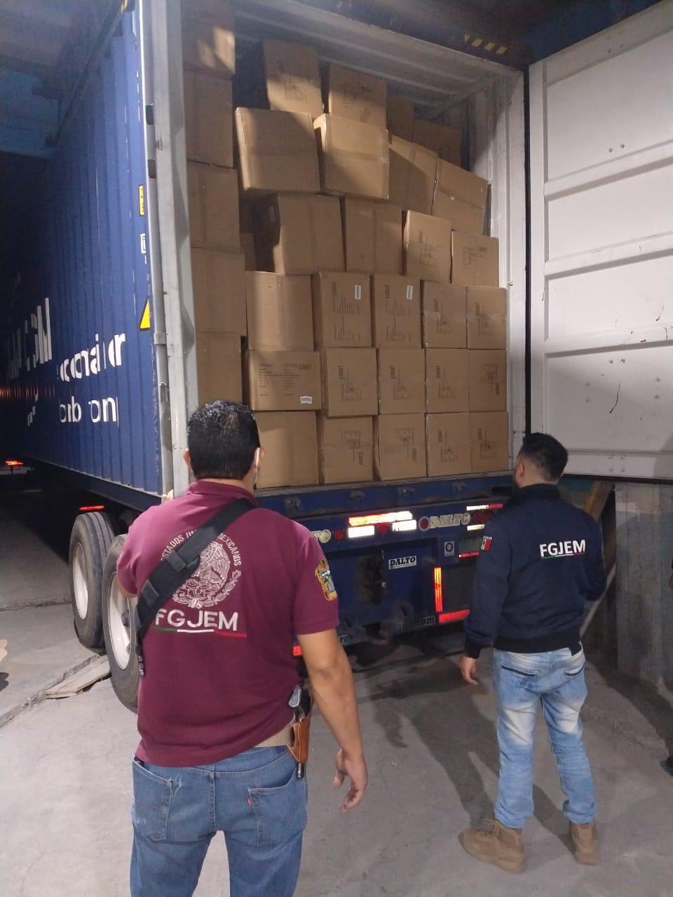 Recuperan mercancía valuada en 1 millón 400 mil pesos
