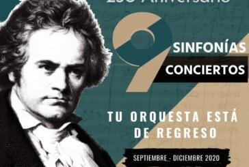 La OFiT regresa con extraordinario programa de las 9 Sinfonías de Beethoven